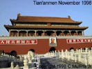 Tian'Anmen, gate of the Imperial Palace, Beijing. Click here to take a Cybertour.